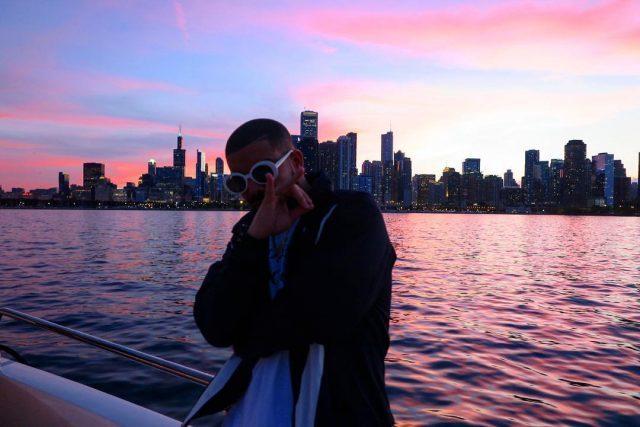 Drake, Skylines & Saint Laurent Sunglasses