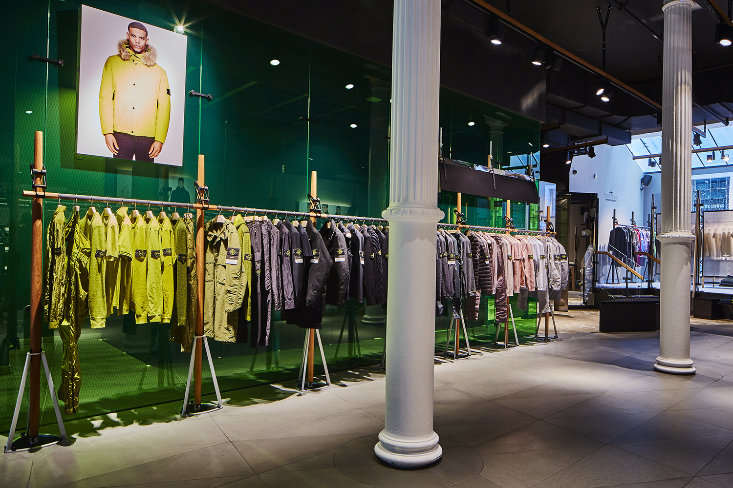 Stone Island Opens New Flagship Store in SoHo, Manhattan