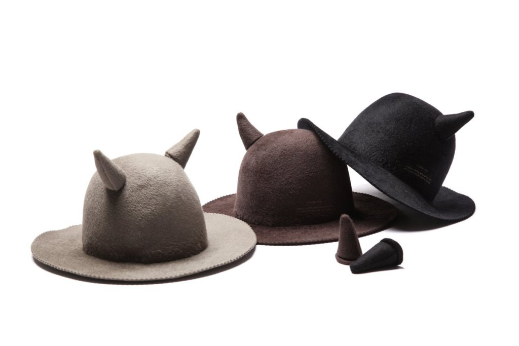 UNDERCOVER x Kijima Takayuki Fall 2016 Hat Collection