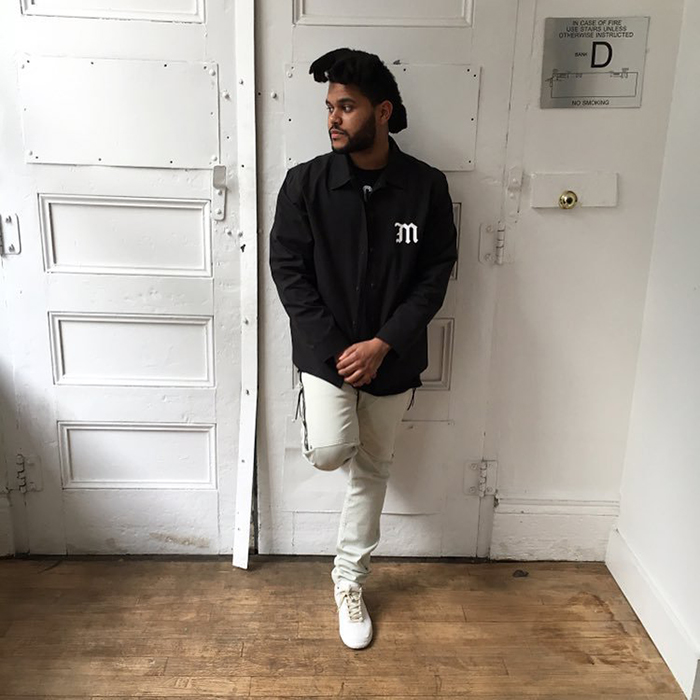Spotted: The Weeknd Wearing Mr. Completely Jeans & Maison Margiela Sneakers