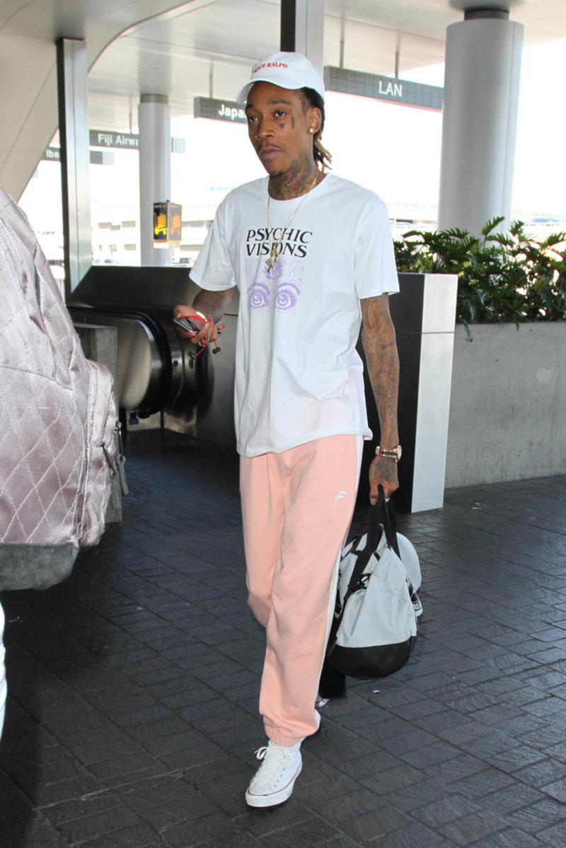 Spotted: Wiz Khalifa In Jungles & Palace