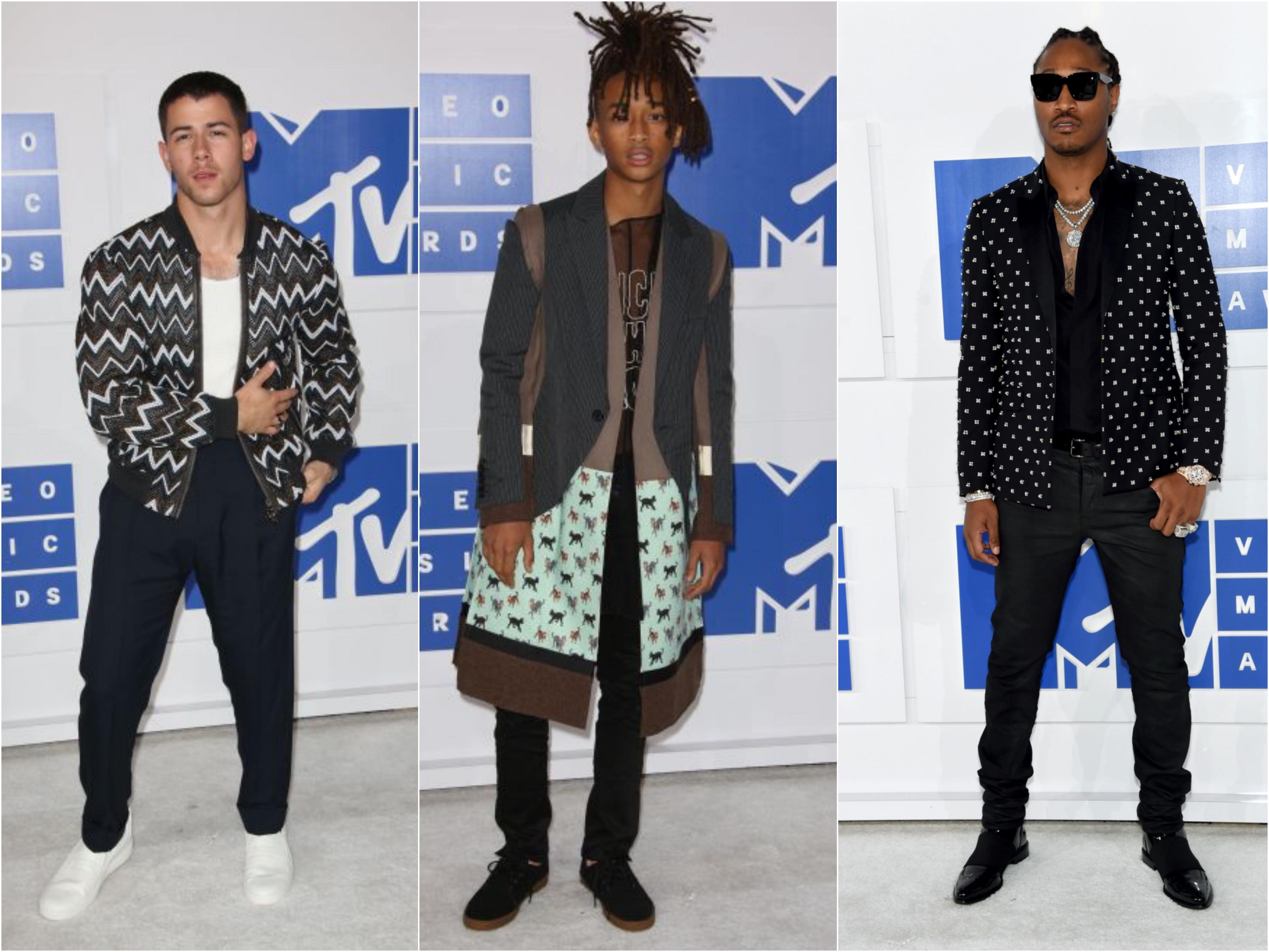 Red Carpet: MTV VMA 2016 Men's Style
