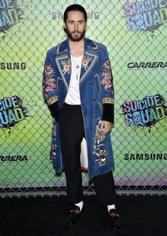 Spotted: Jared Leto In Head-To-Toe Gucci