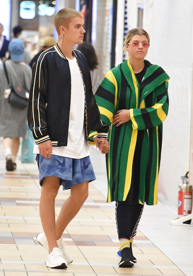 Spotted: Justin Bieber Wears 3.1 Phillip Lim Jacket, Off-White And Adidas