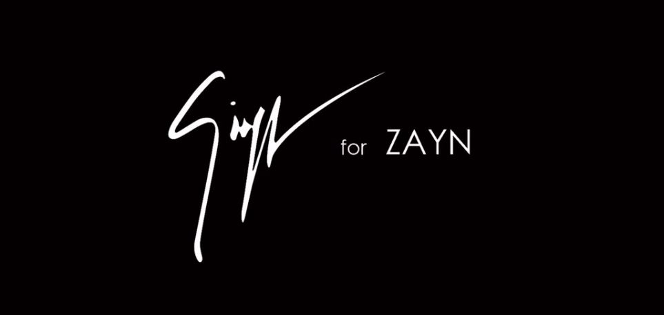 Zayn Malik Will Collaborate With Giuseppe Zanotti for 2017