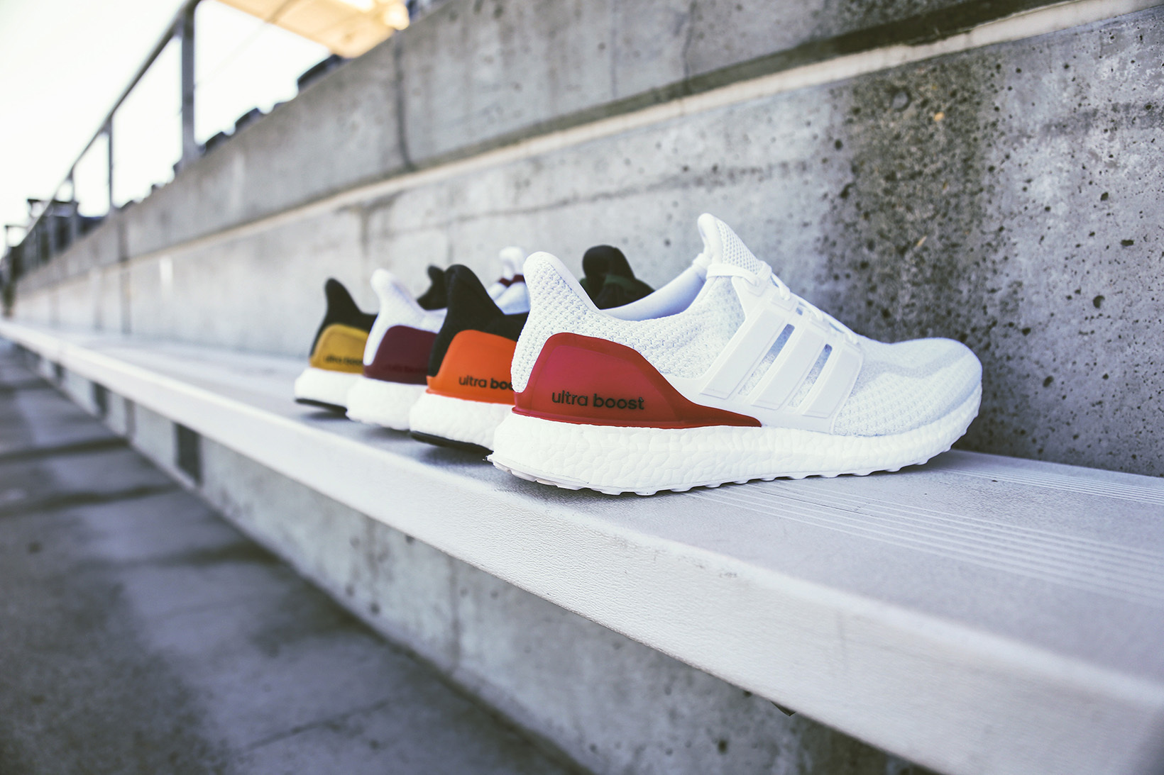 New NCAA colourways for Adidas UltraBoost