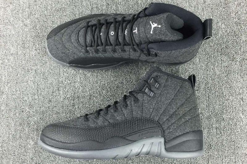 Confirmed Release: Air Jordans 12 'Wool' Sneaker