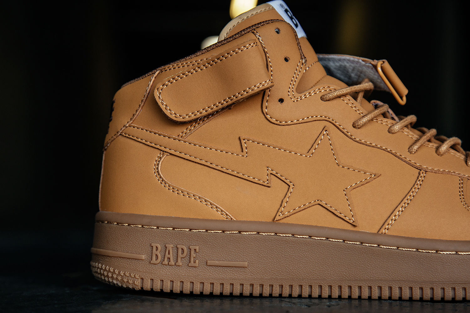 PAUSE or Skip: Bapesta Mid 'Wheat' Air Force One