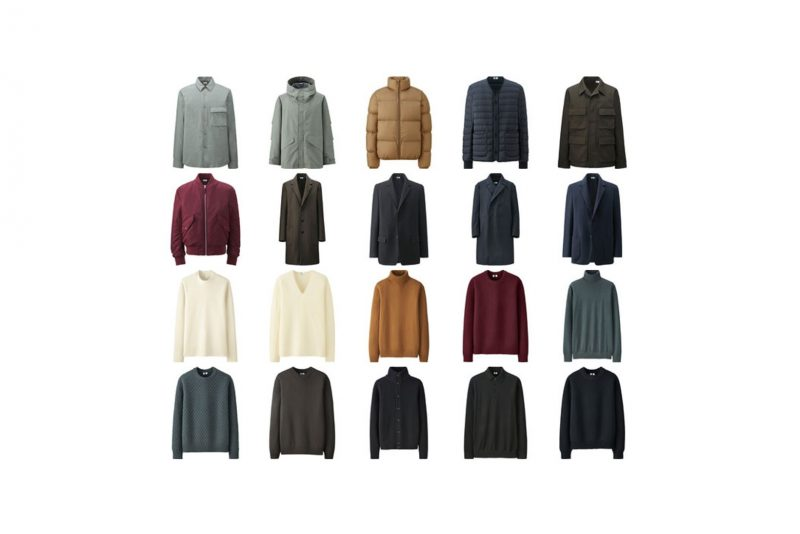 Christophe Lemaire x Uniqlo U Debut Collection