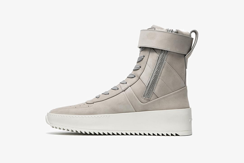 Launching This Weekend: Fear Of God Military Sneaker