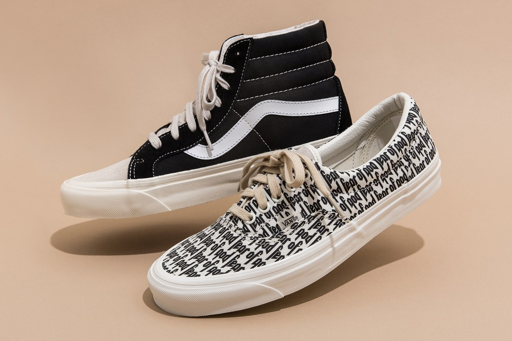 Fear of God x Vans Collab Launching Soon