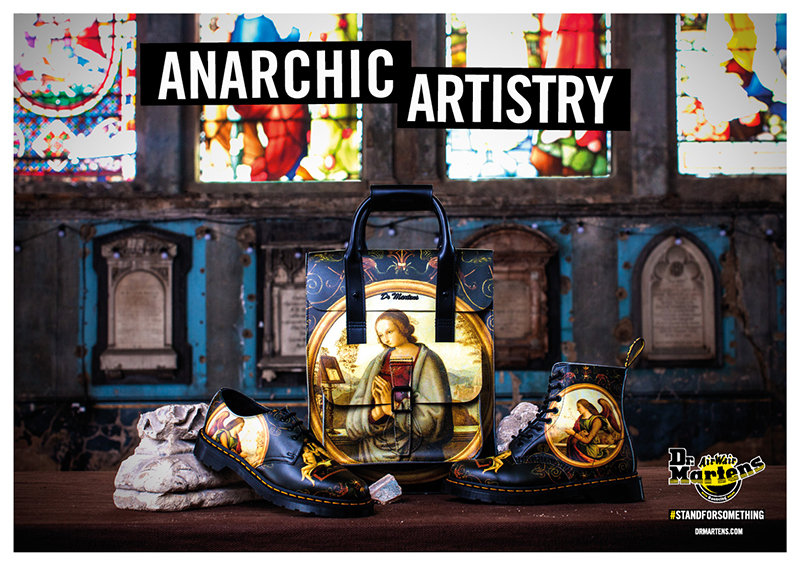 Di Paolo x Dr Martens Anarhic Artistry Collection