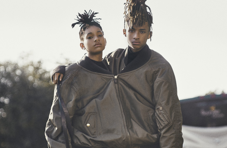 Jaden and Willow Smith Covers Interview Magazine