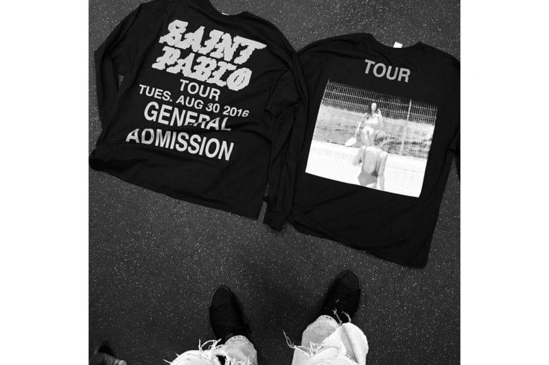 Kanye West's Saint Pablo Merchandise Update