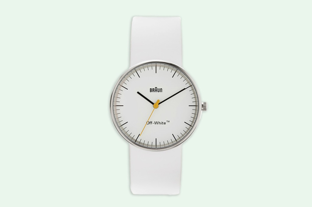 OFF-WHITE x Braun Watch Collab Launches