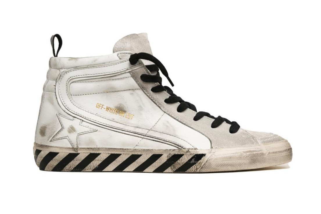OFF-WHITE x Golden Goose unveil a sneaker collaboration