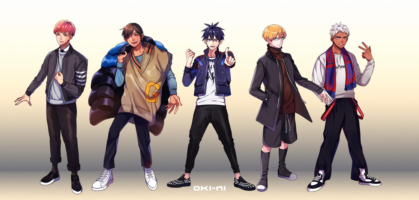 oki-ni Unveils Fashion Manga Characters