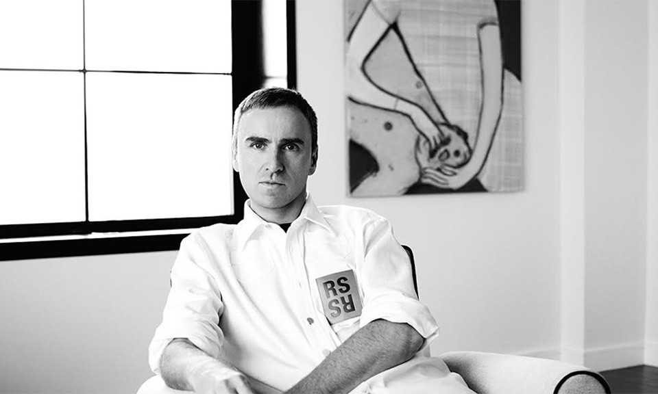 Raf Simons Announced As The Head of Calvin Klein