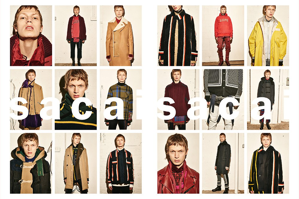 Sacai's Fall/Winter 2016 Sneak Peak Campaign