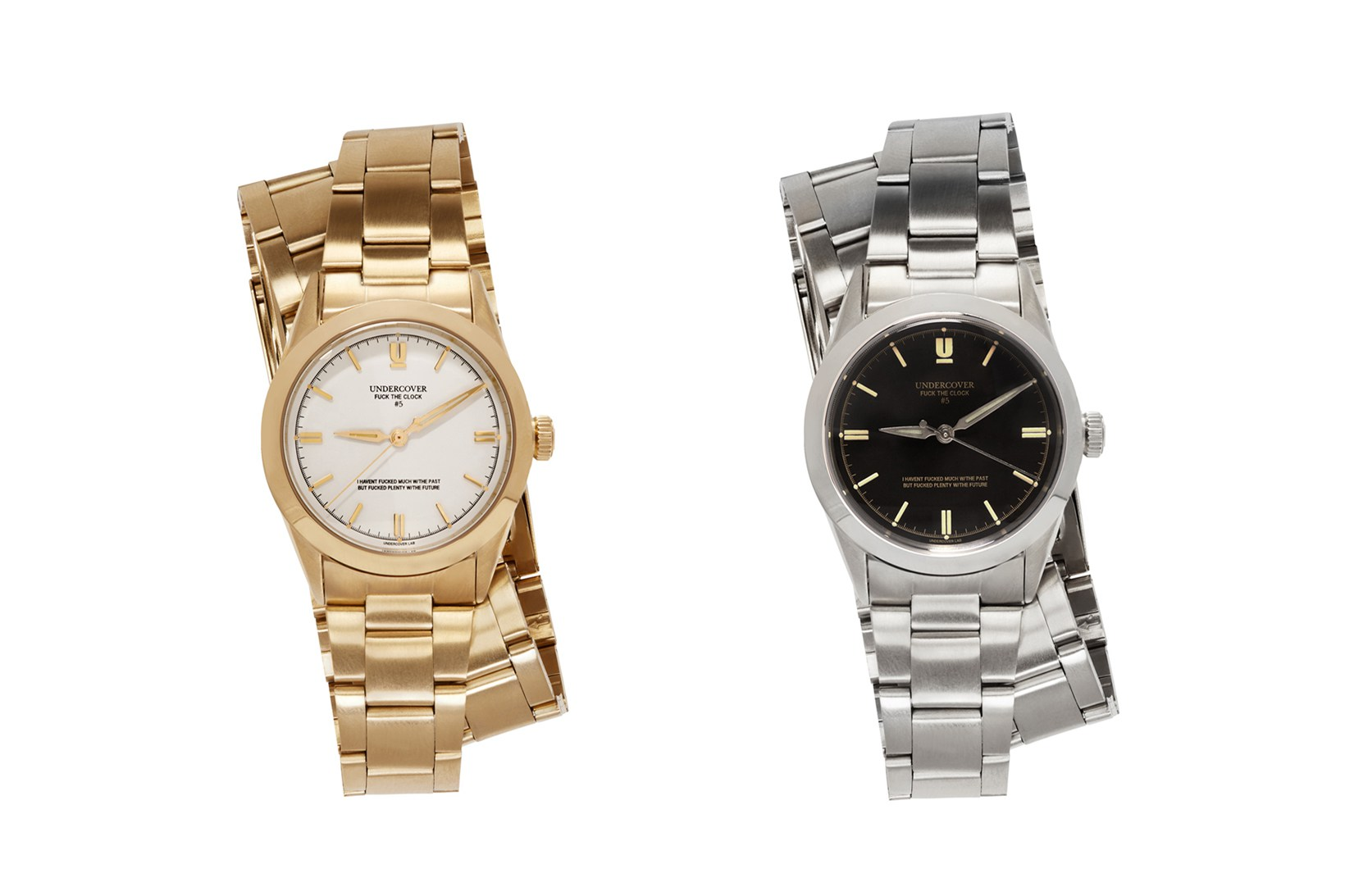 UNDERCOVER Watches; Gold or Silver?