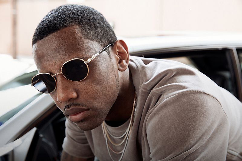 Vintage Frames x Fabolous: The 24k Gold Sunglasses