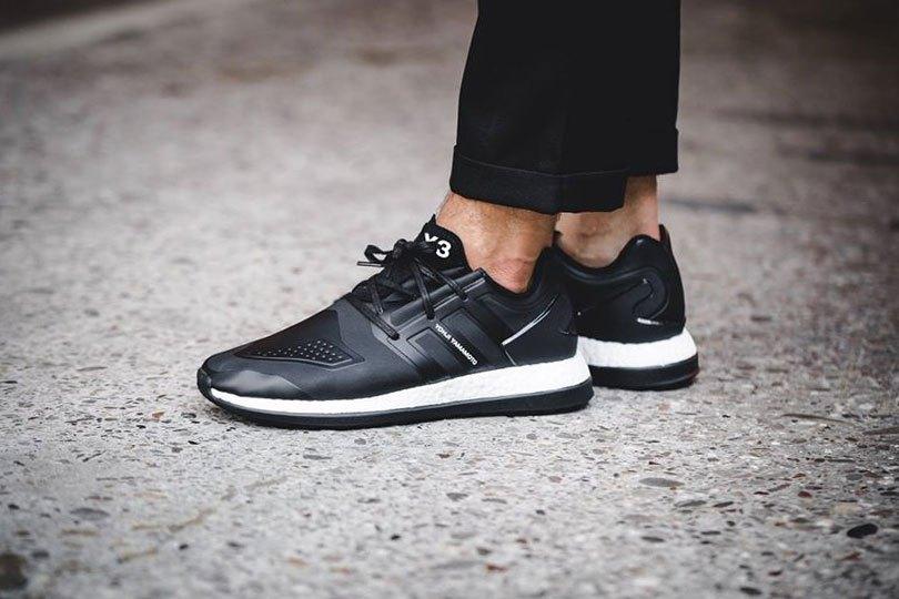 "Y-3 ""Core Black"" Pureboost ZG Sneaker"