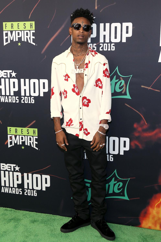 Red Carpet: BET Hip Hop Awards 2016 Men's Style