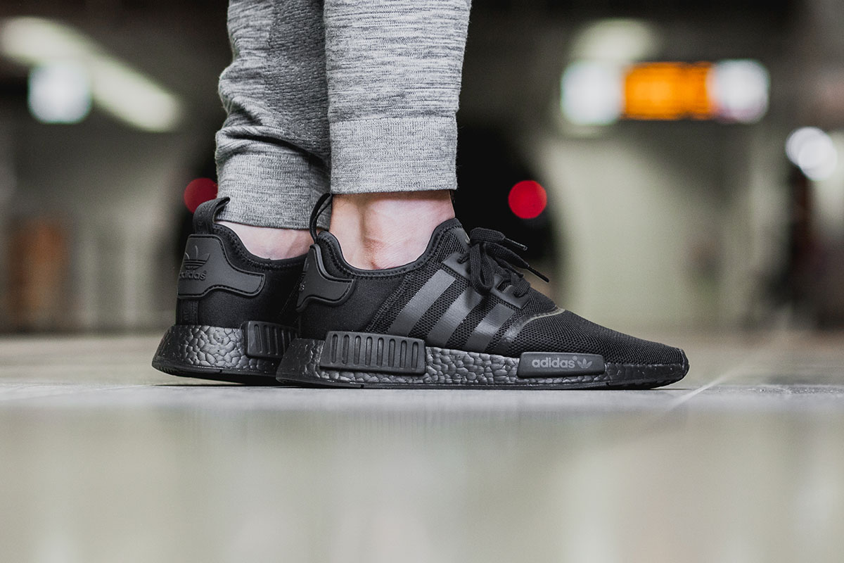 Adidas NMD R1 Original Boost Runner 'Triple Black' Returns