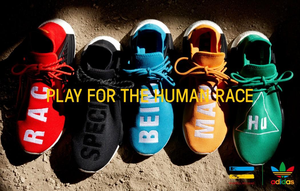Pharrell Williams Launches New Hu Footwear & Activewear