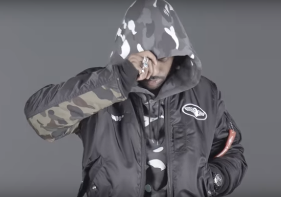 Big Sean Features In BAPE's FW16 Video Lookbook