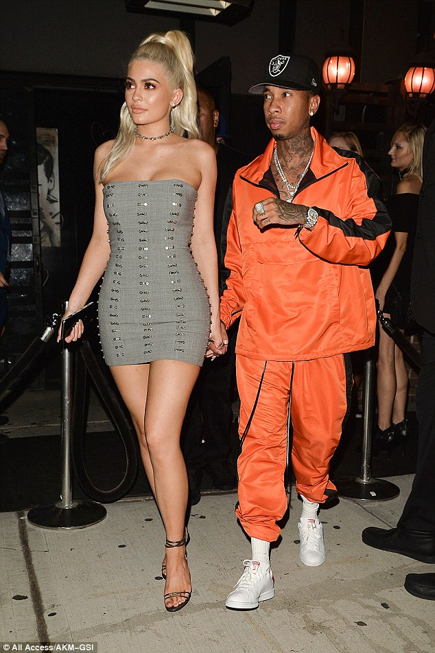 Spotted: Tyga Takes It Back To The 90s In Daniel Patrick Tracksuit
