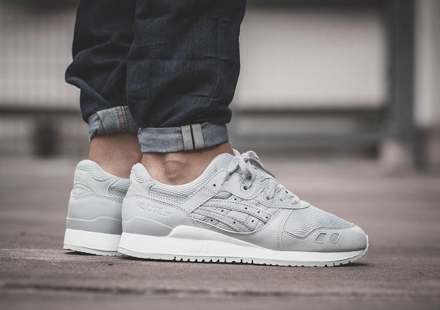 New Asics Gel-Lyte III Core Plus Pack In Light Grey