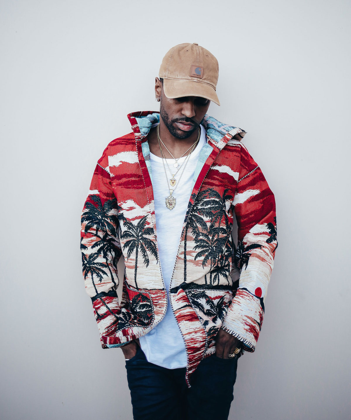 Spotted: Big Sean In Saint Laurent & Carhartt Hat
