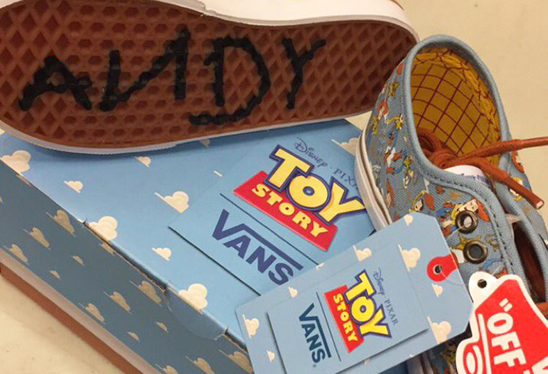 Coming Soon: Vans X Toy Story Collaboration