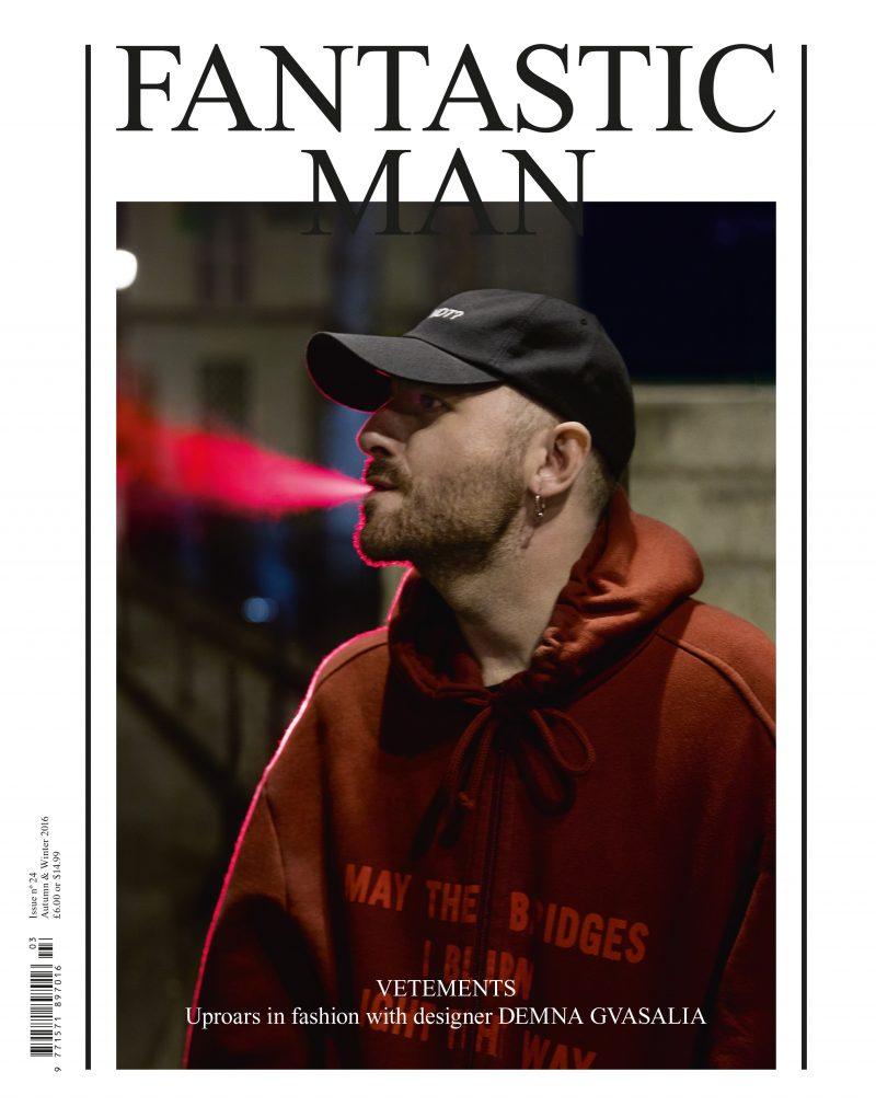 Demna Gvasalia for Fantastic Man 24
