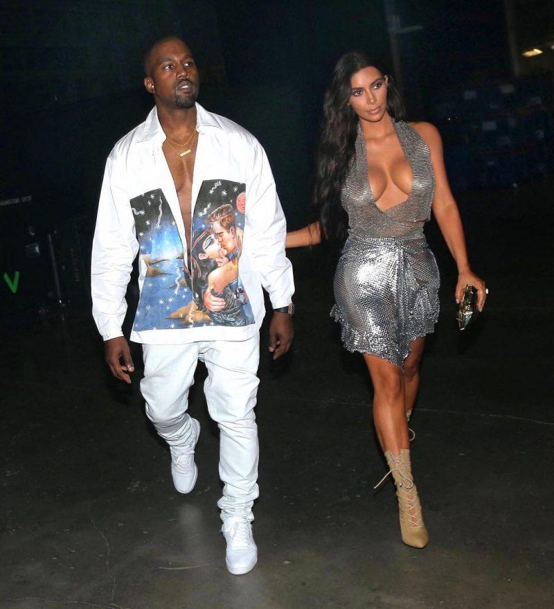 SPOTTED: Kanye in Prada and Yeezy Season 4