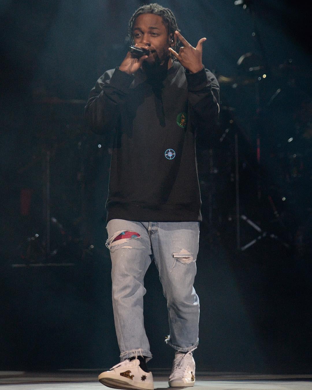 GET THE LOOK: Kendrick Lamar In Raf Simons & Saint Laurent
