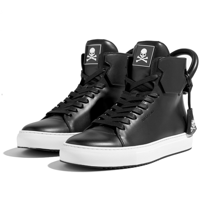 Buscemi X Mastermind JAPAN footwear collaboration