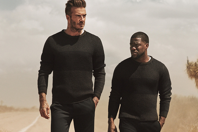 David Beckham and Kevin Hart Reunite For Another H&M Ad