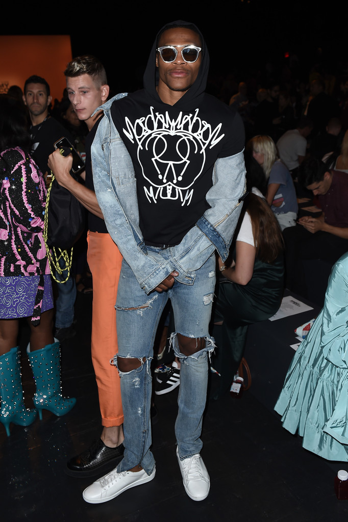 SPOTTED: Russell Westbrook in Fear of God & Saint Laurent