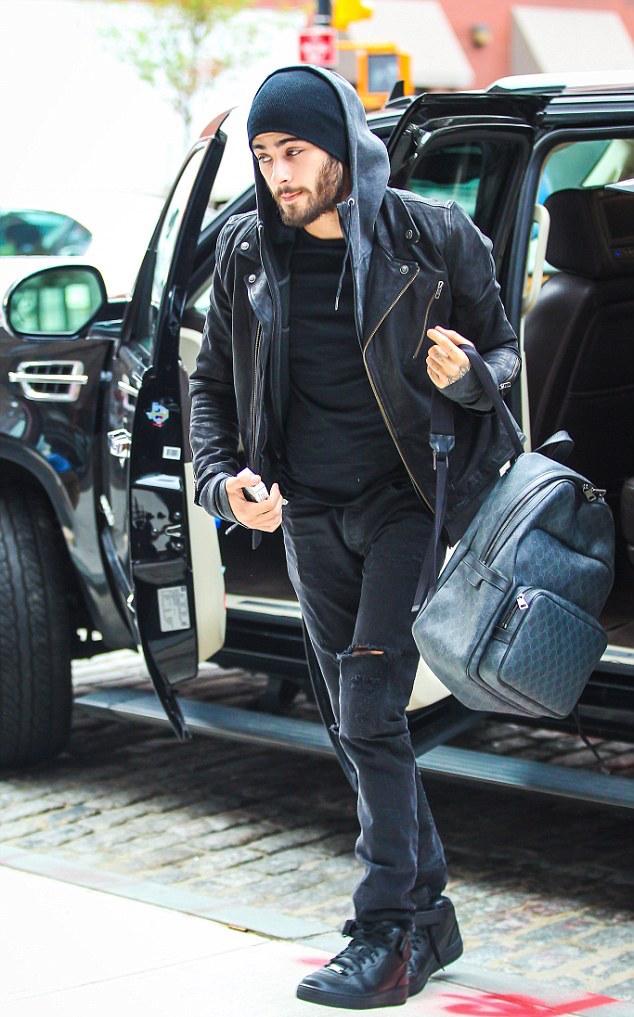 SPOTTED: Zayn Malik in Gucci & Nike