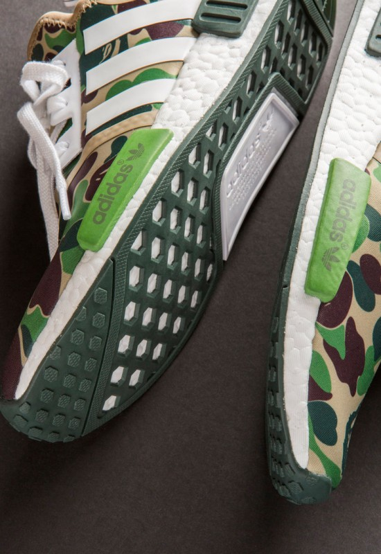 A Close Up Look At The BAPE x adidas NMD_R1
