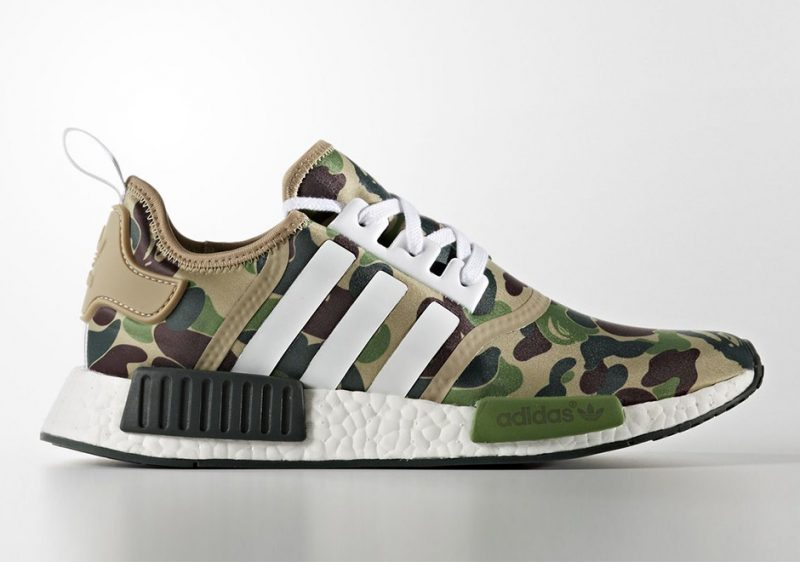 BAPE x adidas NMD R1 Reveal Release Date
