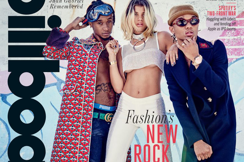 Rae Sremmurd & Sofia Richie's Billboard Cover