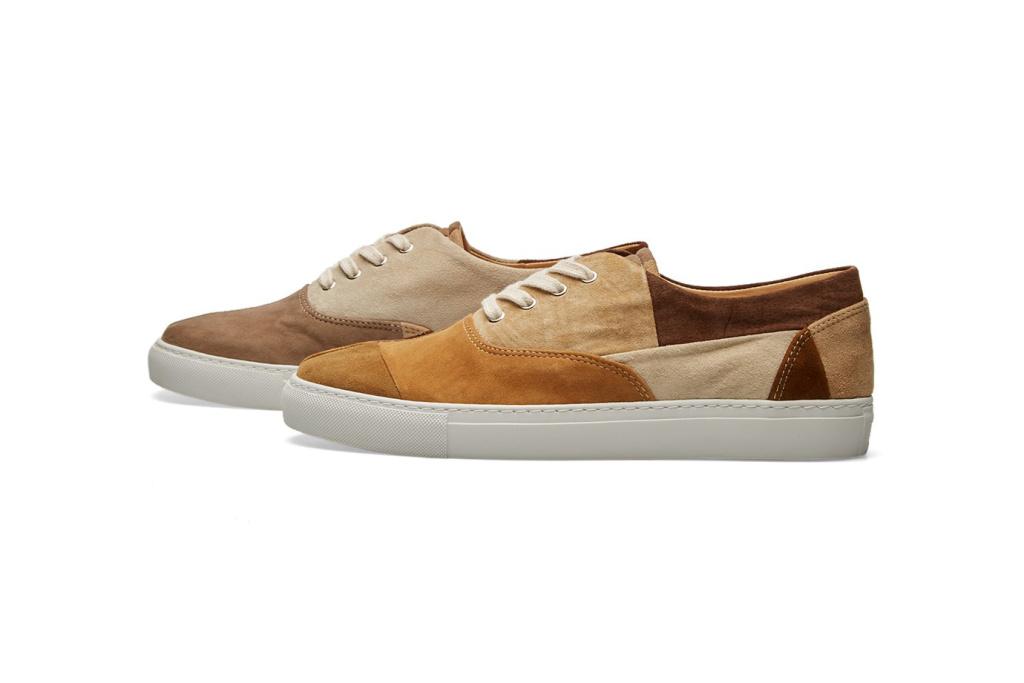 COMME des GARÇONS SHIRT x Generic Man Patchwork Sneakers