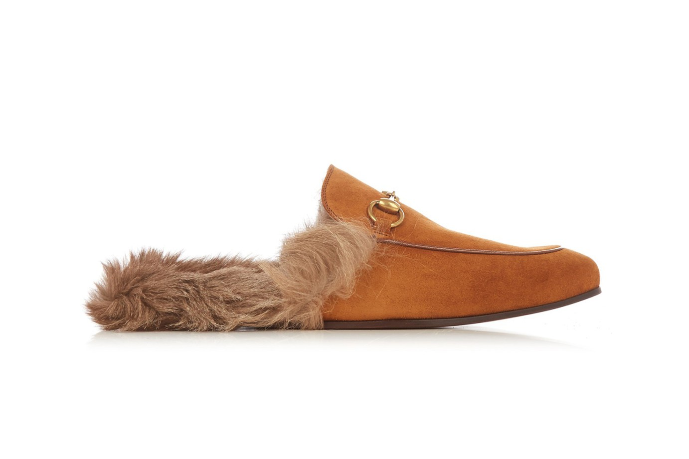 The Gucci Loafers Features Kangaroo Fur