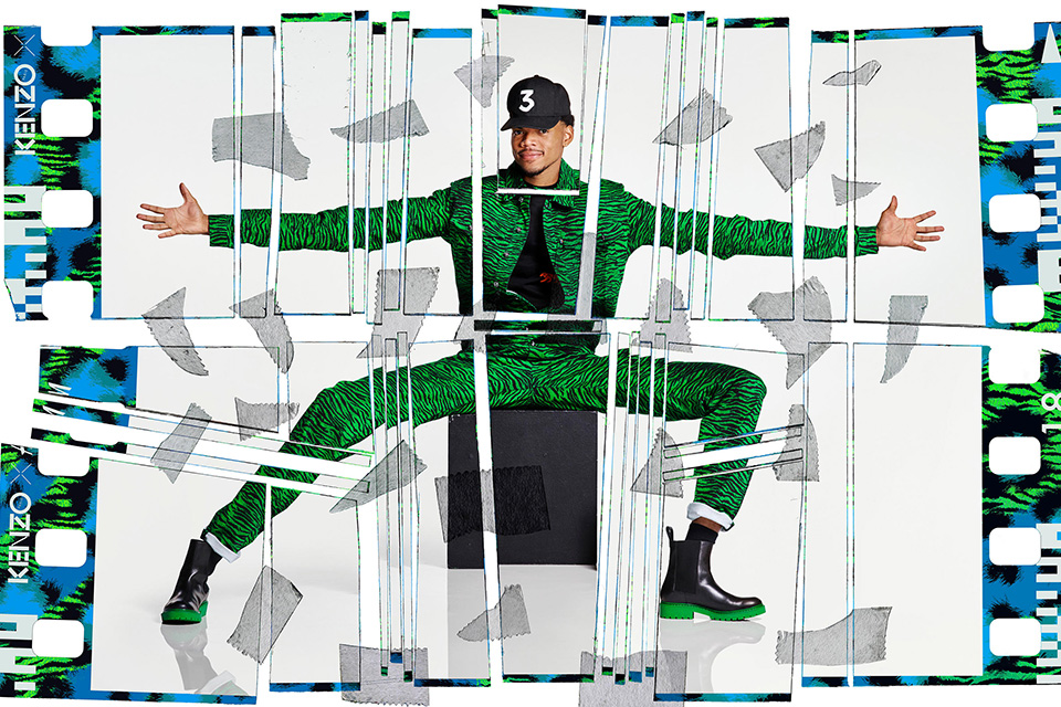 A Look at the Kenzo X H&M Collab Ft. Chance The Rapper