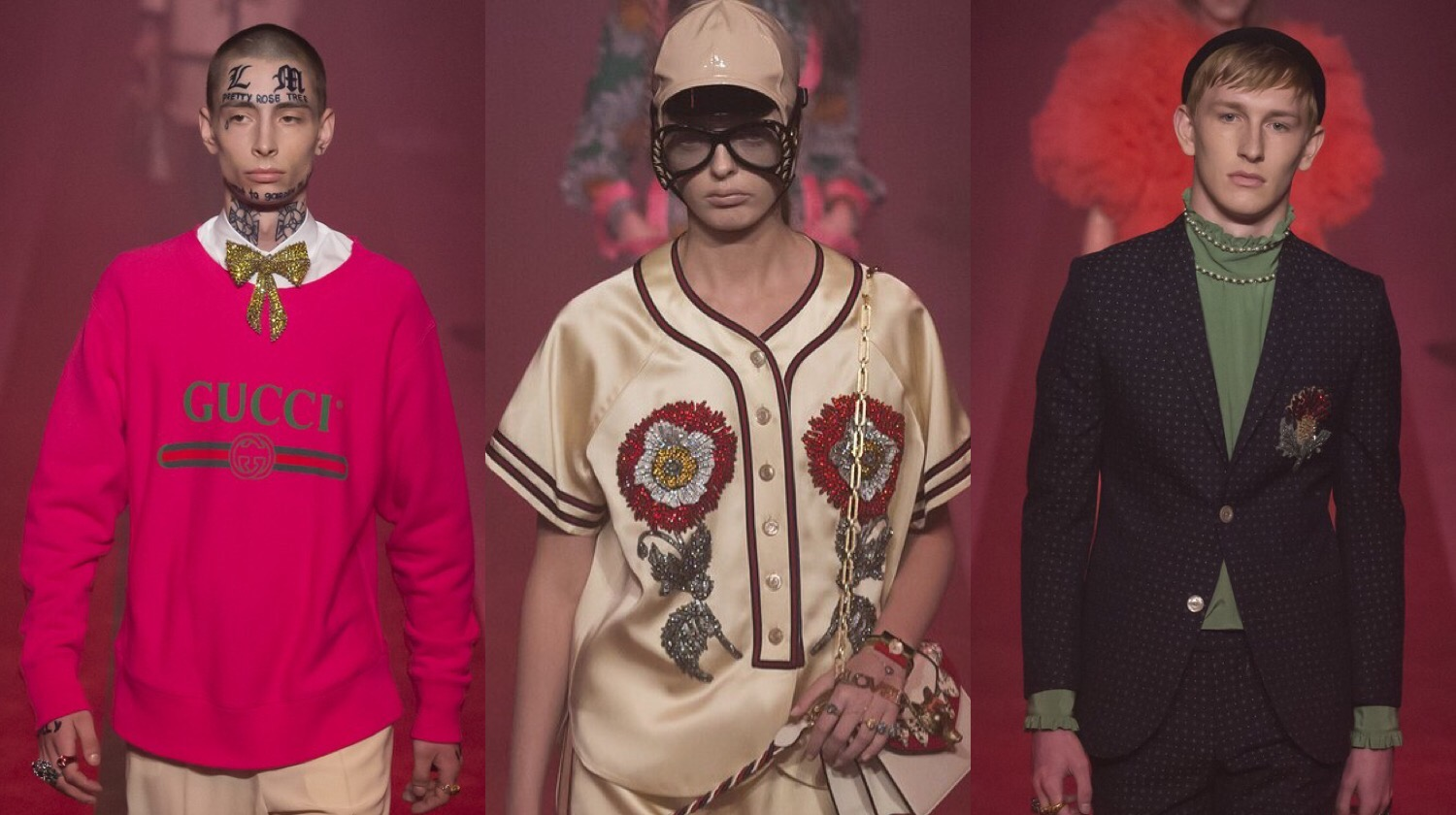 MFW: Gucci Spring 2017 Men's Collection
