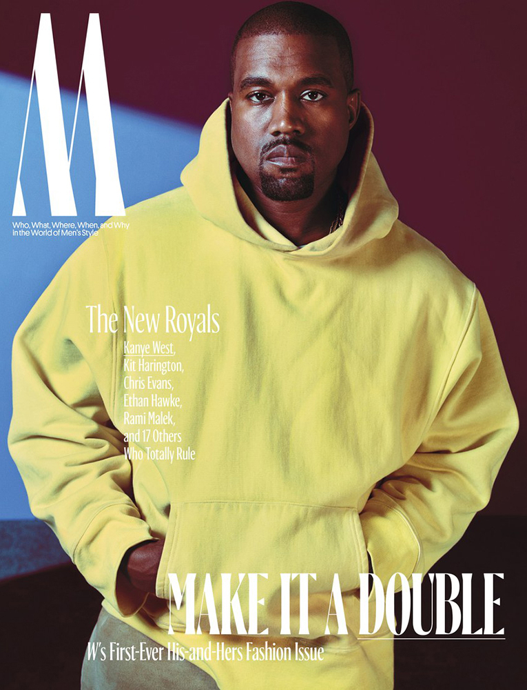 Kanye West Announced Royalty For W Magazine
