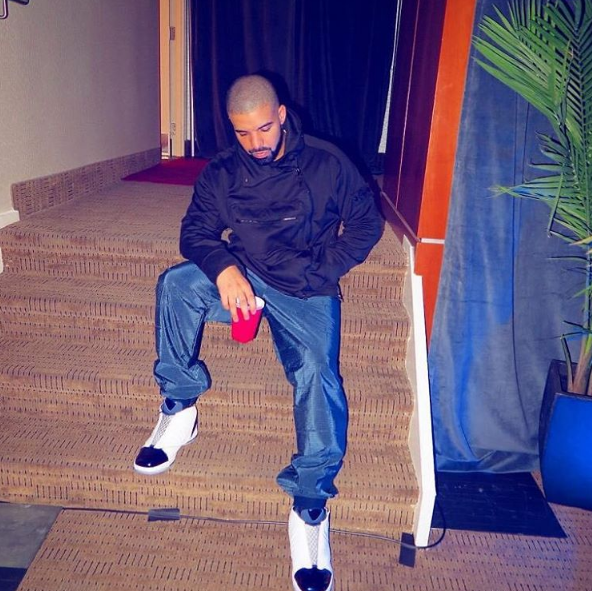 Spotted: Drake In Stone Island Jacket